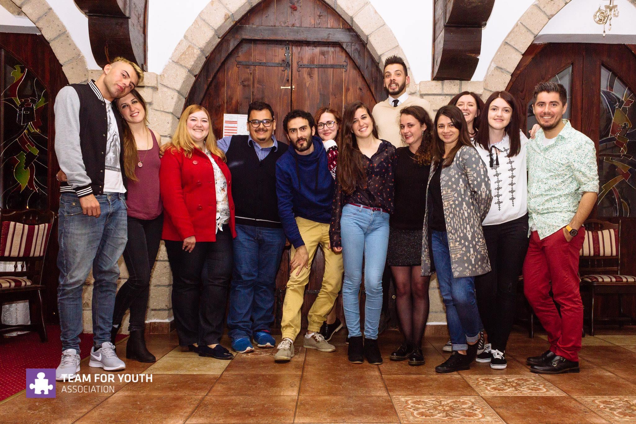 Clara Galiana evs romania baia mare team for youth